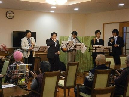 平成28年11月27日ジャズ研究会そんぽの家S東古松訪問演奏3