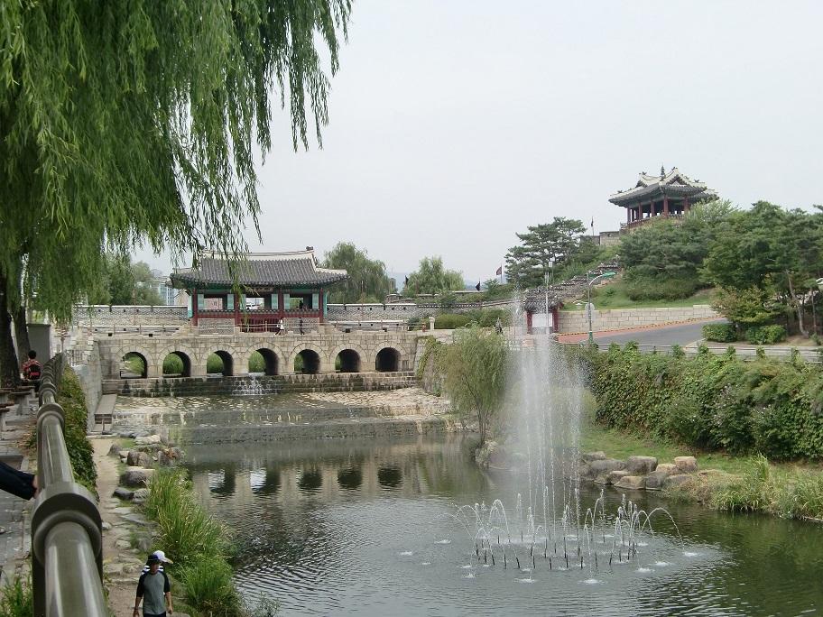 ⑮世界遺産の水原は美しい!!